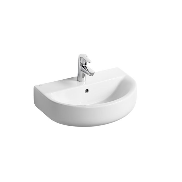 Concept Space Arc 55cm Washbasin - Short Projection