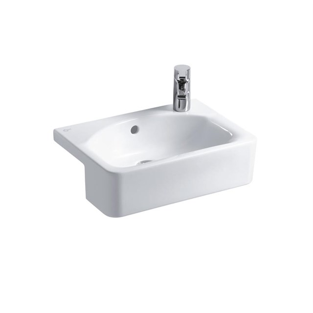 Concept Space Cube 50cm Semi-Countertop Washbasin