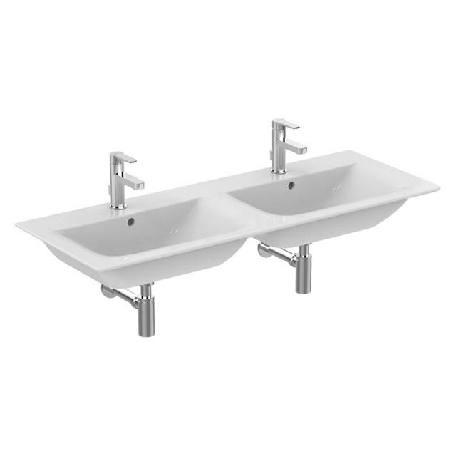 Concept Air 124cm Double Vanity Washbasin