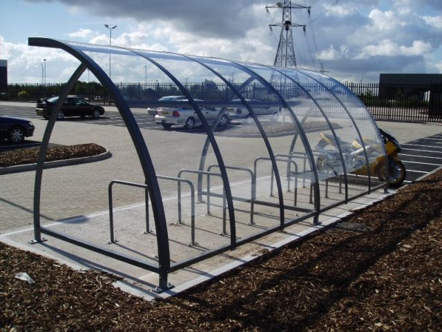 Ashford Cycle Shelter