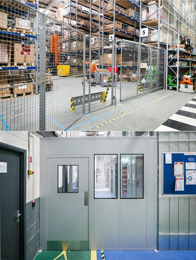 Troax UK, Troax Lee Manufacturing & Avanta Joint Project