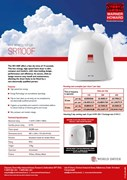 SR1100F Warner Howard hand dryer