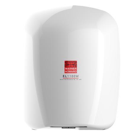 EL1100W Warner Howard Hand Dryer