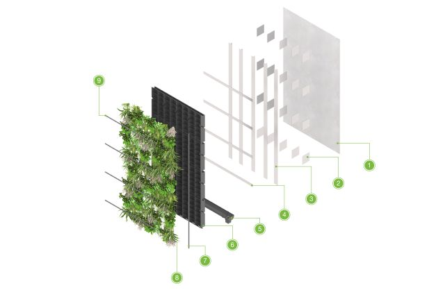 ANS Living Wall System – Helping Hand Type