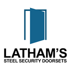 Latham's Steel Security Doorsets logo