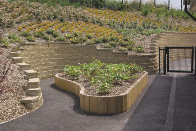 Anchor Diamond Retaining Wall Blocks