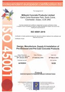 ISO 45001 Health & Safety Certificate