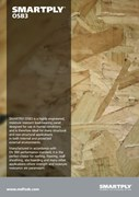 SMARTPLY OSB3 -  Suitable for structural and non-structural applications in protected external or internal areas