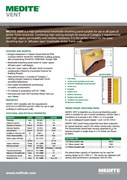 MEDITE VENT MDF - Breathable external sheathing panel