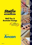 Staifix Guide to Wall Ties & Restraint Fixings