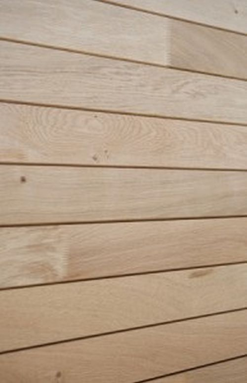 Air Dried Jointed British Oak Profiled Cladding