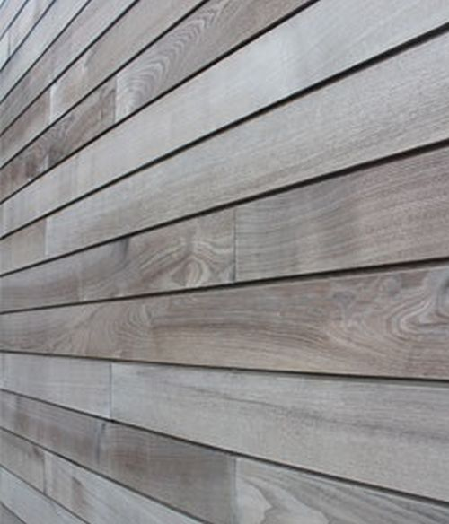 Brimstone Ash Modified Profiled Timber Cladding Vastern