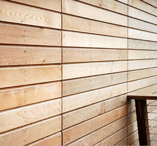 Canadian Western Red Cedar Profiled External Cladding