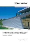 Rheinzink Standing Seam Technology Installation Guide for Zinc Roofing