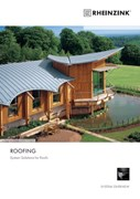 Rheinzink Roof Coverings - Zinc System Solutions for Roofs