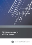 SPW600 and SPW600e Range of Windows and Doors