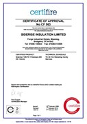 CF563 3rd Party Certification of External Facade Fire Barriers