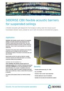 Flexible acoustic barriers - suspended ceilings v3