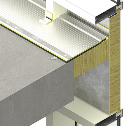 SIDERISE Acoustic Barrier Overlay - Facades (formerly Lamatherm CW-AB)