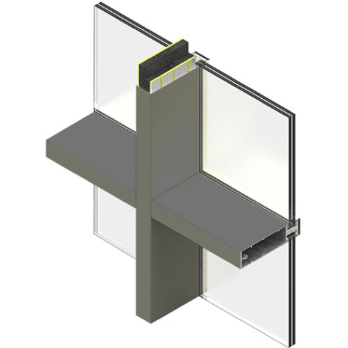 SIDERISE Mullion and Transom Inserts for Curtain Walling (formerly Lamaphon Mullion / Transom Inserts)