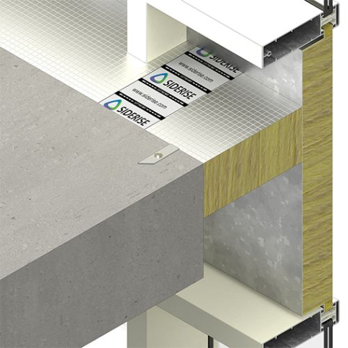 SIDERISE Perimeter Barriers and Firestops for Curtain Walling (formerly Lamatherm CW-FS)