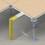 SIDERISE RF Cavity Barriers and Firestops for Raised Access Floors (formerly Lamatherm RF)