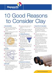 10 Good Reasons to Consider Clay