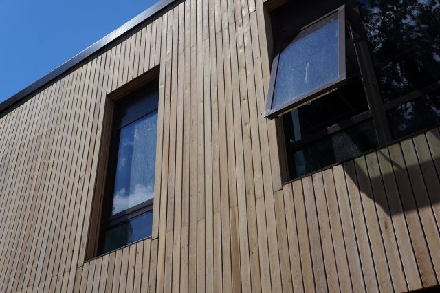 siberian larch timber cladding norclad limited. Black Bedroom Furniture Sets. Home Design Ideas