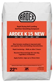 ARDEX K 15 Levelling and Smoothing Compound