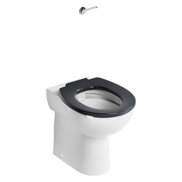 HBN 00-10 HTM64 (WC H) Contour 21+ Raised Height Back to Wall Rimless WC Suite