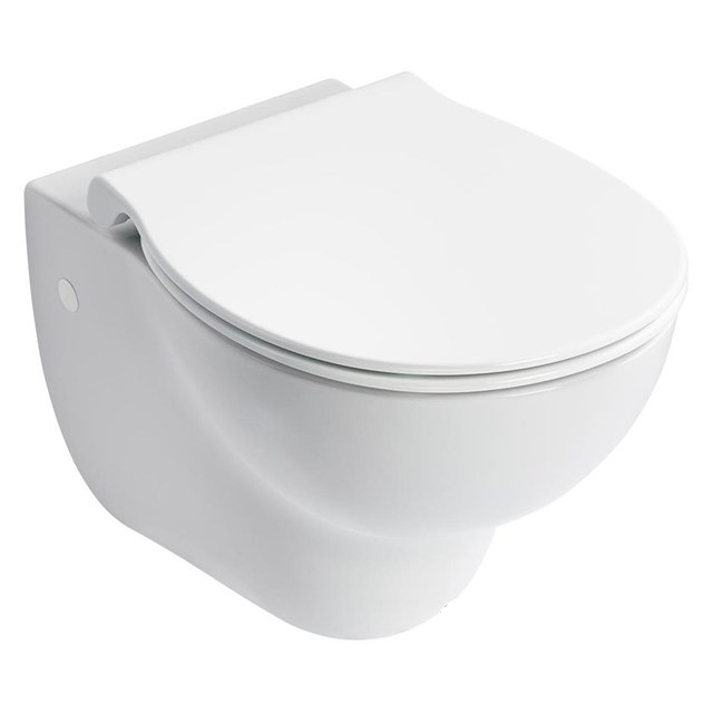 HBN 00-10 HTM64 (WC H) Contour 21+ Wall Mounted Rimless WC Suite