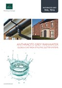 Anthracite Grey Rainwater Systems
