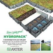 Hydropack Pre Planted Modular Green Roof System