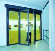 EI30 Fire Rated Automatic Sliding Door System