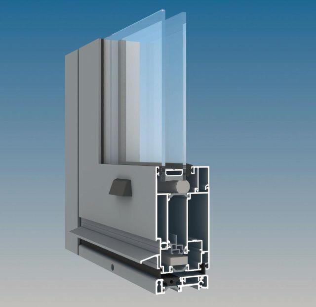 Aa545 Aluminium Thermally Broken Door Kawneer Uk Ltd