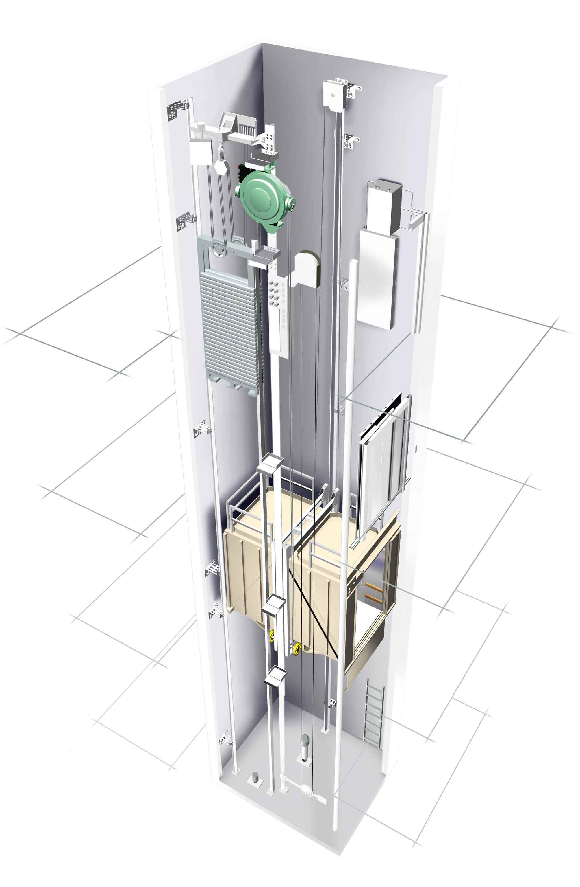 Automatic sliding glass doors - Kone Plc