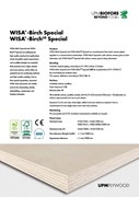 WISA-Birch & WISA-Birch Special Plywood