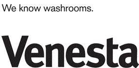 Venesta Washroom Systems Ltd logo.