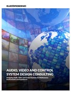 Audio, video and control system design consulting