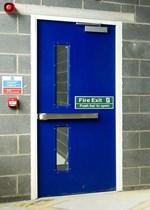 Fire Exit Steel Doorsets - Armourdoor AD10