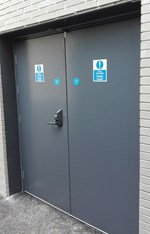 High Security Steel Doorsets -  Armourdoor AD20