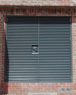 Louvered Steel Door Armourdoor AD30