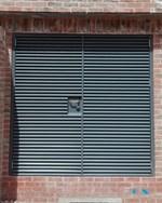Louvered Steel Doorsets- Armourdoor AD30