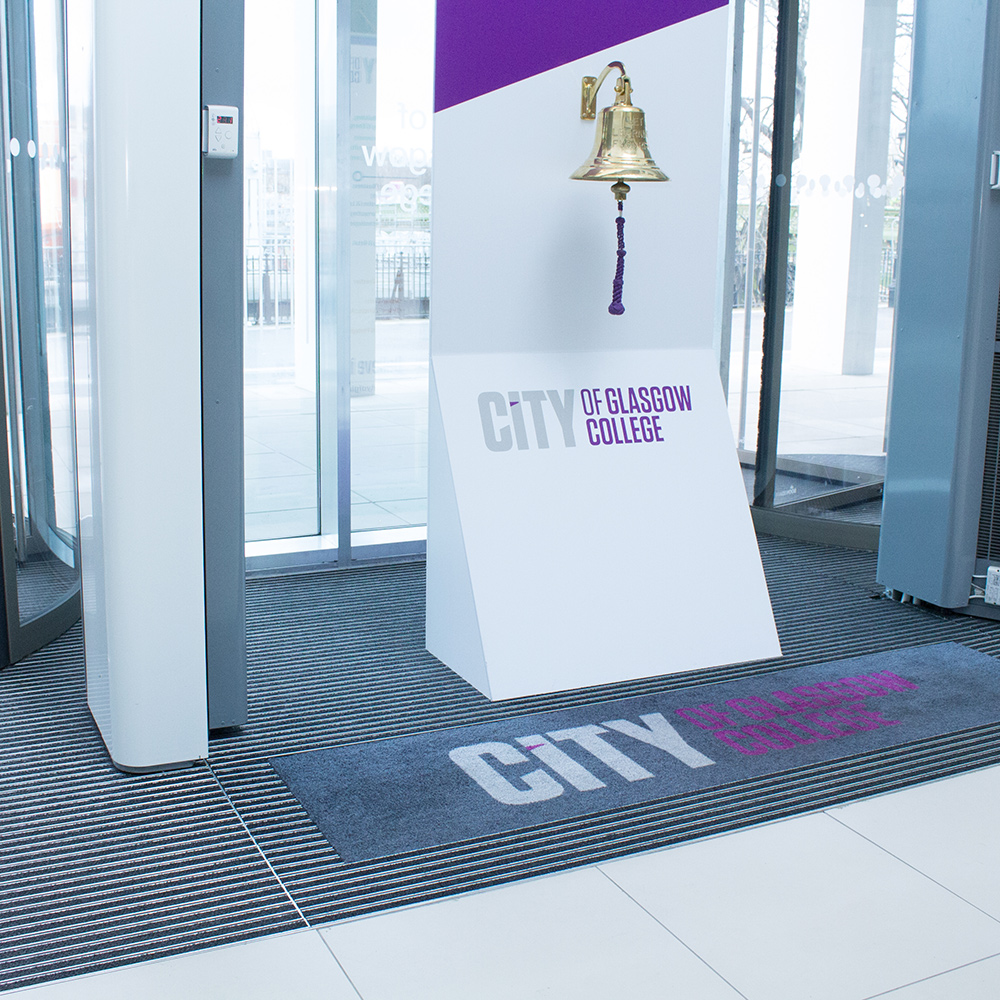 City of Glasgow College - Plan.a Entrance Matting