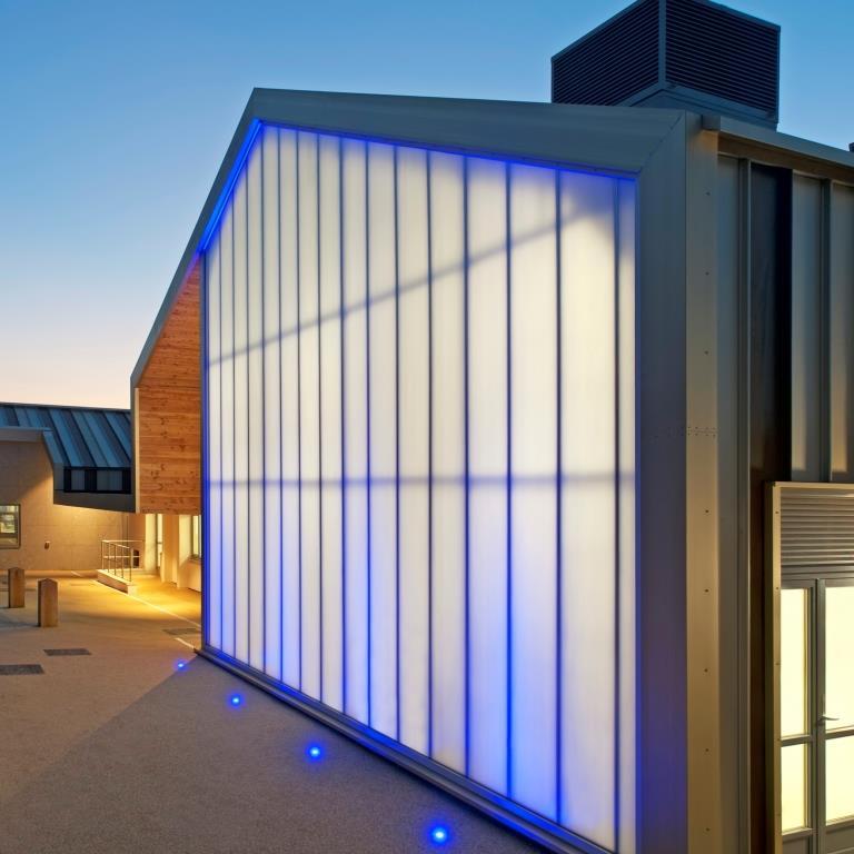 Everlite Concept Polycarbonate Panel Facade Rainscreen