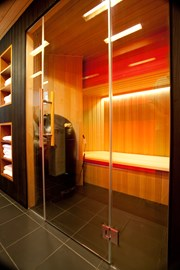 Residential Combined Infrared & Traditional Sauna