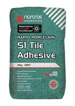 Rapid Porcelain Grey S1 Tile Adhesive