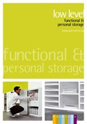 Low Level Storage Product Brochure