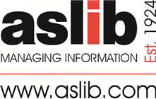 ASLIB, ASLIB provides training and development for busy information professionals in key aspects of information work. logo