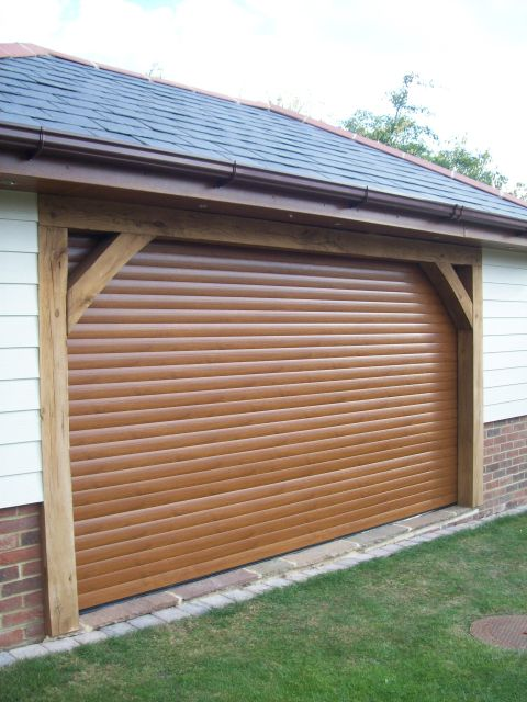 Europa Insulated Roller Garage Door